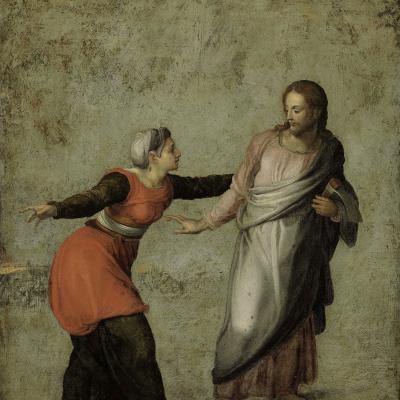 Воскресший Христос и Мария Магдалина (Не прикасайся ко Мне)