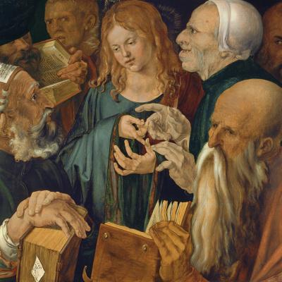 Христос среди учителей