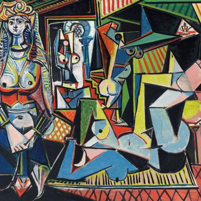The women of Algiers (version O)