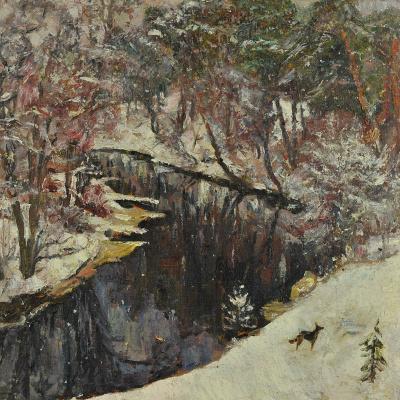Валерий Иванович Ярош. Snowfall