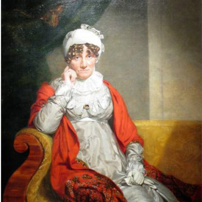 Портрет герцогини Августы Саксен-Кобург-Заальфельдсмкой
