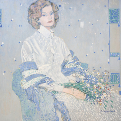 Autumn sonata. Portrait of Zavistovskaya