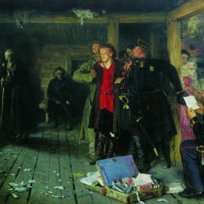The arrest of the propagandist