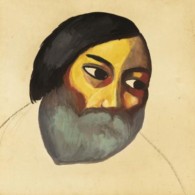 Казимир Северинович Малевич. Голова крестьянина