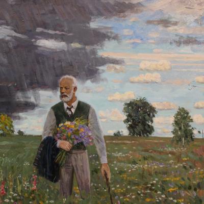 П.И. Чайковский. В поле.