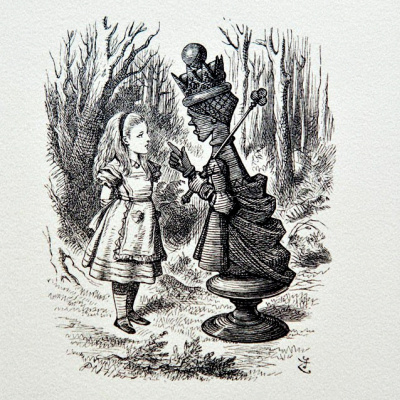 John Tenniel. Alice in Wonderland