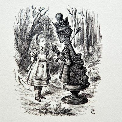 Джон Тенниел. Алиса в стране чудес