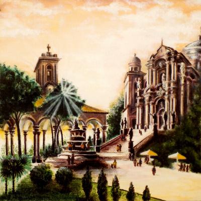 Alex Visiroff. Holy monastery