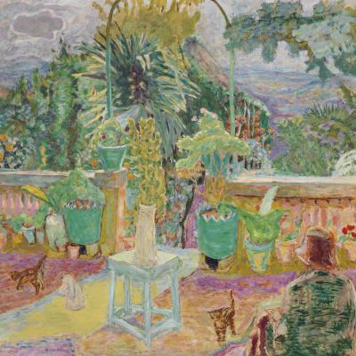 Terrace in Grasse