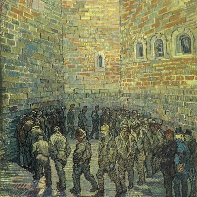 Prisoners Exercising (After Doré)