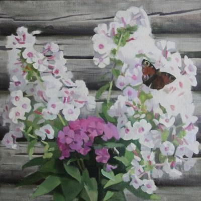 Екатерина Ивановна Киселева. Бабушкины цветы