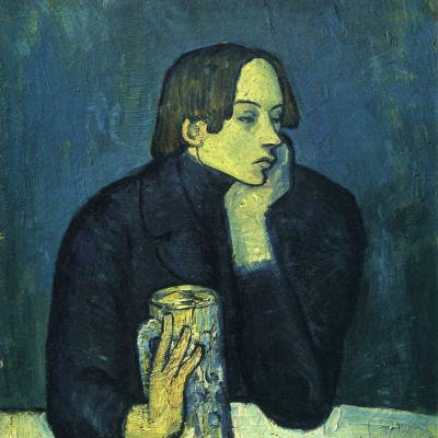 The Glass of Beer (Portrait of the Poet Sabartés)
