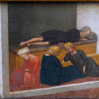 Life of St. Nicholas. Pizansky polyptych