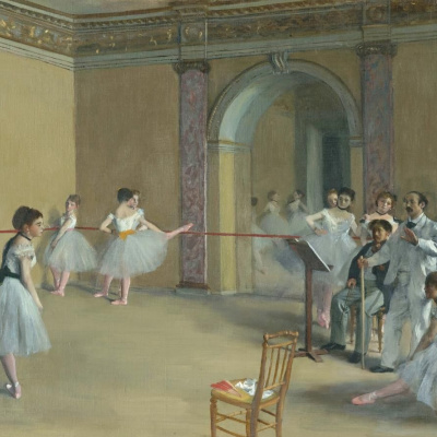 Ballet class Opera on the street Pelletier