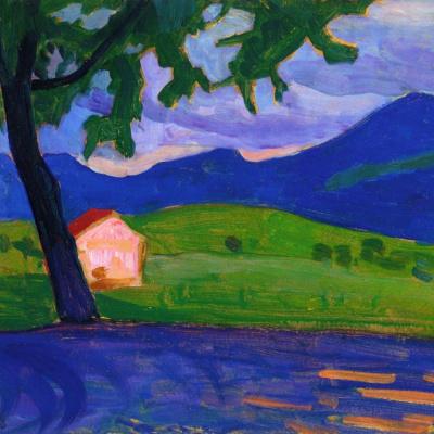 Дом возле озера Штаффель