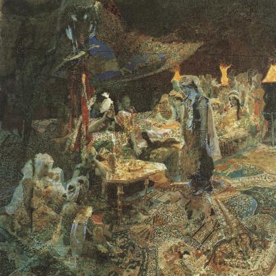 Mikhail Vrubel. Oriental tale