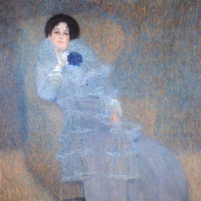 Gustav Klimt. Portrait Of Marie Henneberg