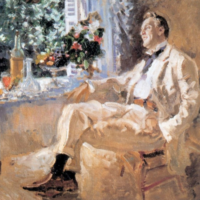 Portrait of the artist Feodor Chaliapin