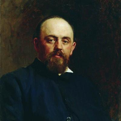 Portrait Of S. I. Mamontov