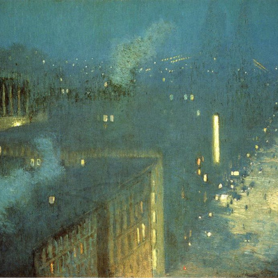 Nocturne, the Queensboro bridge