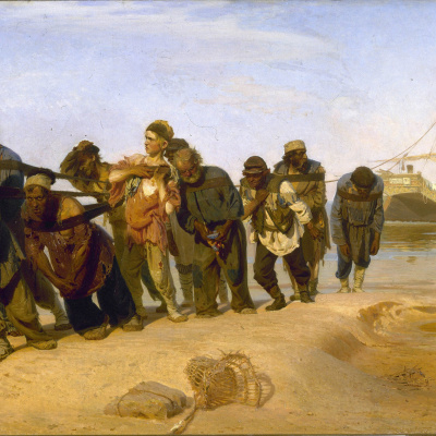 Barge haulers on the Volga