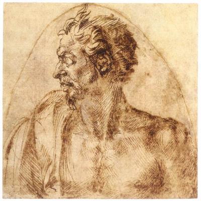 Michelangelo Buonarroti. Satyr