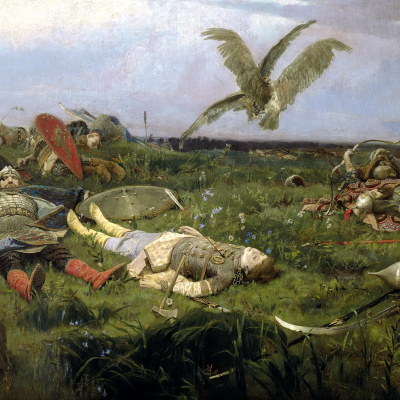 After the battle of Igor Svyatoslavich with the Polovtsy
