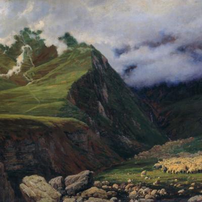 В горах Кавказа