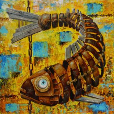 Старый лосось