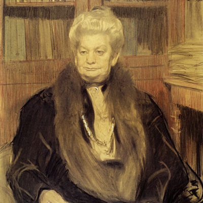 Портрет писательницы А. В. Шварц