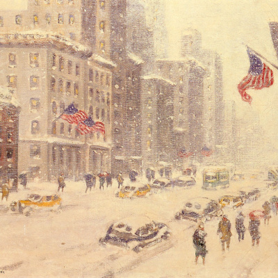 Winter's Day, Fifth Avenue