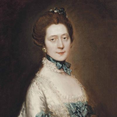 Portrait of Lady Ann Fourier, nee Greenly