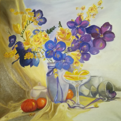 Olga Pavlovna Georgieva. Orchids