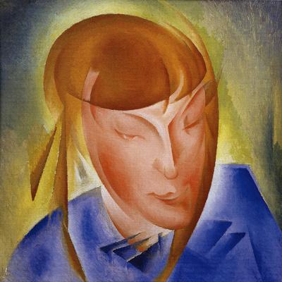 Александр Константинович Богомазов. Portrait of daughter