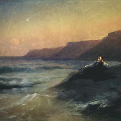 Пушкин на берегу Черного моря