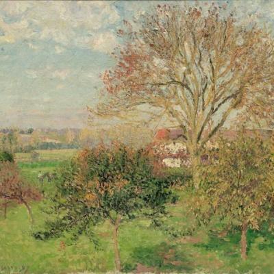 Autumn morning at Eragny