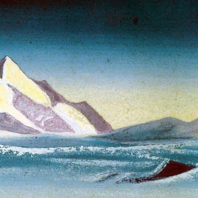 Тибет (Сиреневые тени)