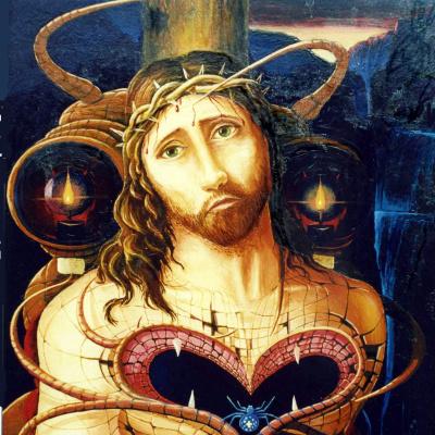 Христос в терновом венце.