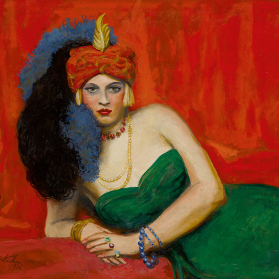 Girl With Turban (Zuleika)