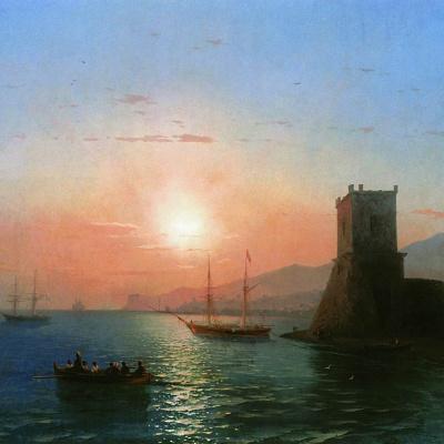 Theodosius. Sunset