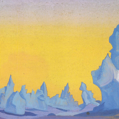 The Ice Of The Himalaya