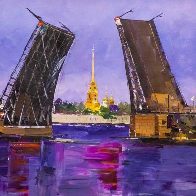 """""""Bridges of St. Petersburg N3"""""""