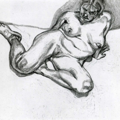 Woman without clothes