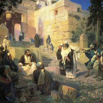 Христос и грешница (Кто из вас без греха?)