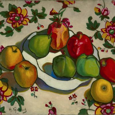 Гранаты и яблоки