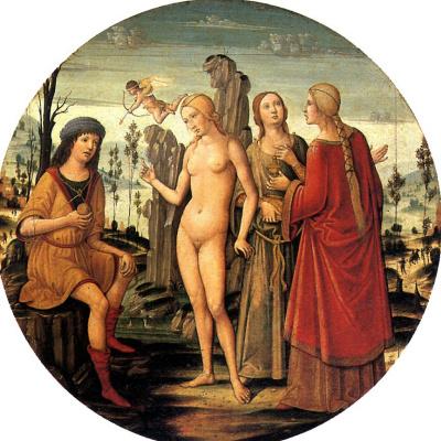 Benvenuto Di Girolamo. The Judgment Of Paris