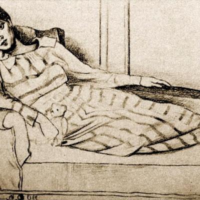 Portrait Of Olga Khokhlova