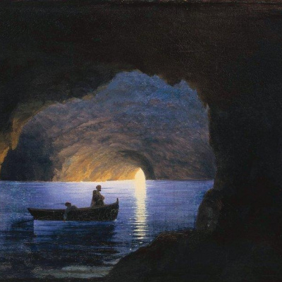 Azure grotto. Naples