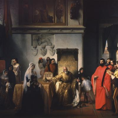 Doge Francesco Foscari demotion