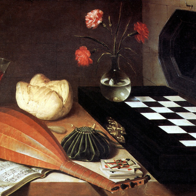 Still life with chessboard